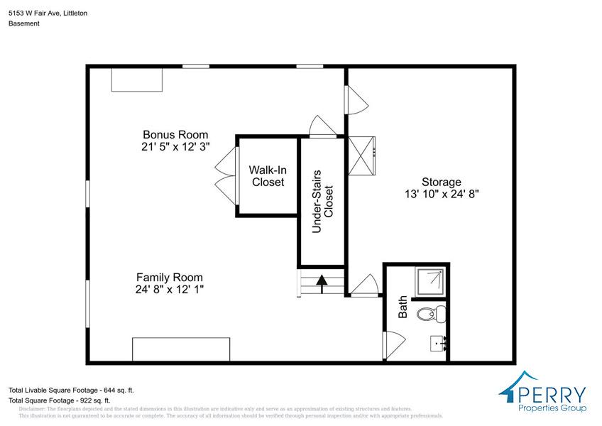 5153 W Fair Ave Littleton CO-large-003-50-Basement-1414x1000-72dpi