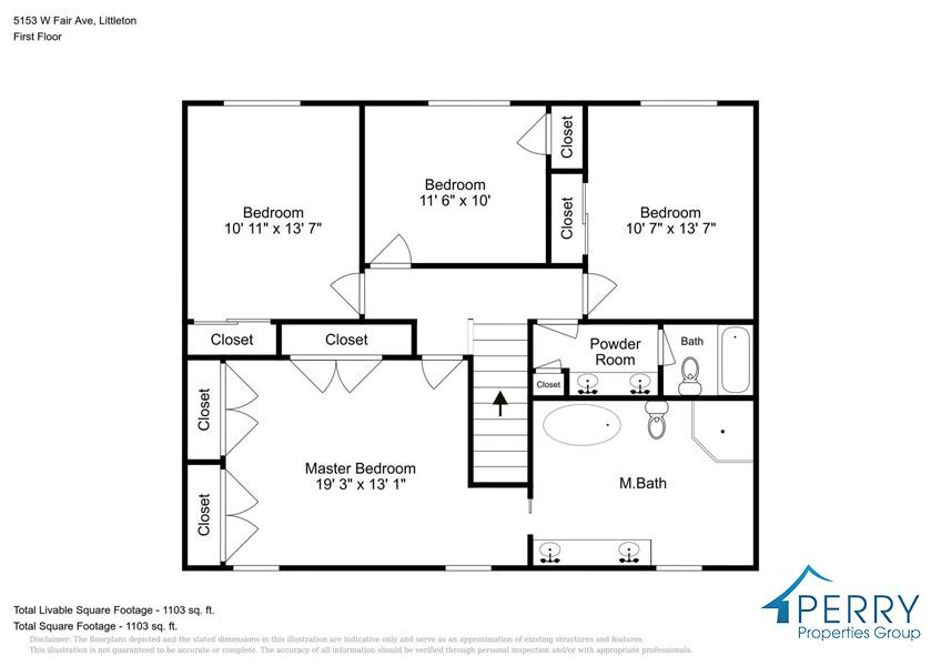 5153 W Fair Ave Littleton CO-large-005-48-Second Floor-1414x1000-72dpi