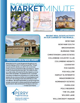 Click to view PDF version of the September Columbine Valley Market Minute