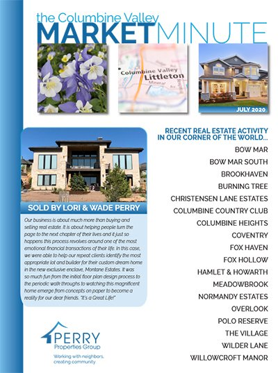 Click to view PDF version of the July Columbine Valley Market Minute