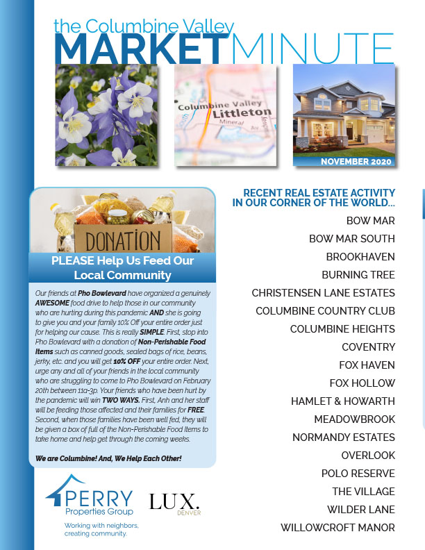 Click to view PDF version of the January Columbine Valley Market Minute